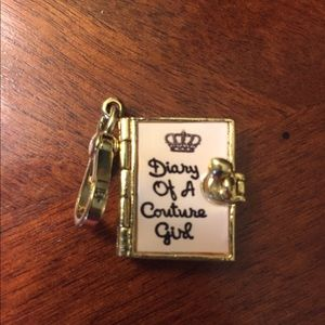 Juicy Couture Diary Charm